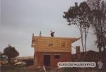 Osazení roubenou konstrukcí